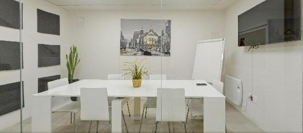 Sala de reuniones Coworking Boadilla